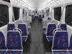 Metro 7000-Series car concept drawing