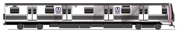 My modification to the WMATA 7000-Series design to contain four doors