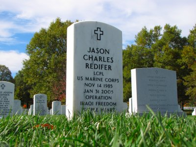 Headstone of Jason Redifer