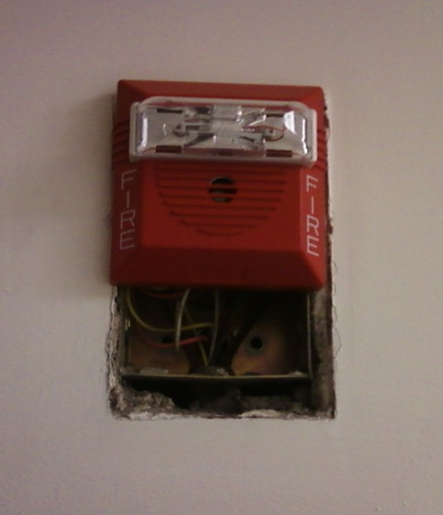 The Schumin Web » New Fire Alarms At Work…