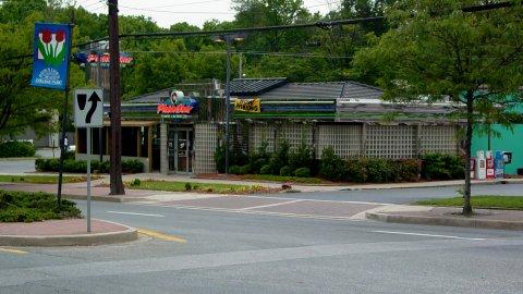 Plato's Diner, seen here in 2005
