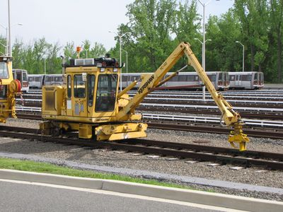 TC-02, a Bridge Crane vehicle.