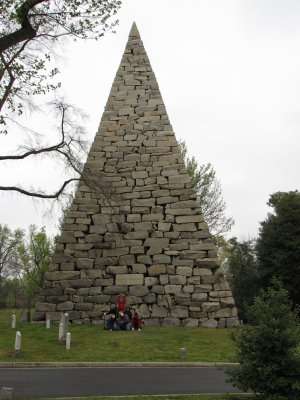 The Hollywood Cemetery pyramid