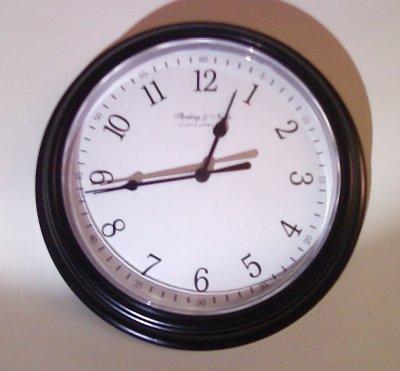 The stuck clock in my bedroom
