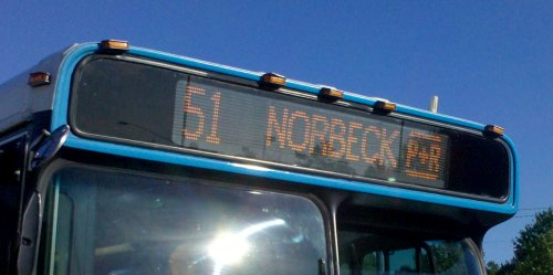 51 to Norbeck Park and Ride