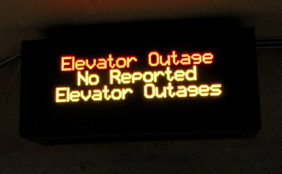 Elevator Outage: No Reported Elevator Outages