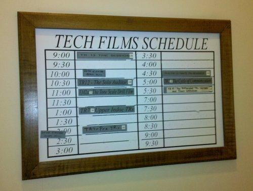FCDC film schedule