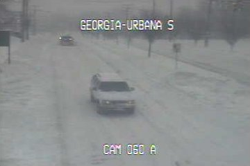 Traffic camera near Glenmont Metro station