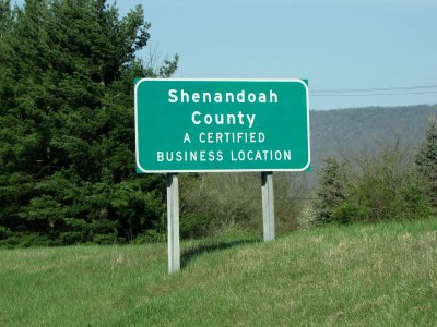 Shenandoah County, A Certified Business Location