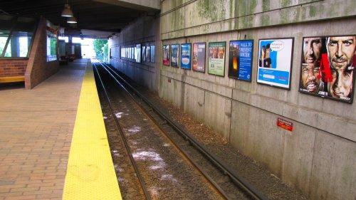 MBTA's Quincy Adams station