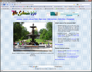 Main Page, old site build