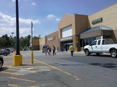 Walmart in Waynesboro, following a remodel