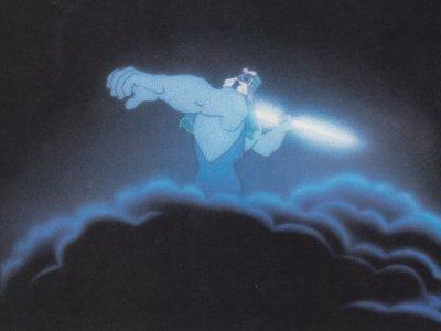 Zeus, as seen in Fantasia
