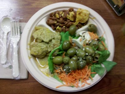 My lunch from Friday, April 8