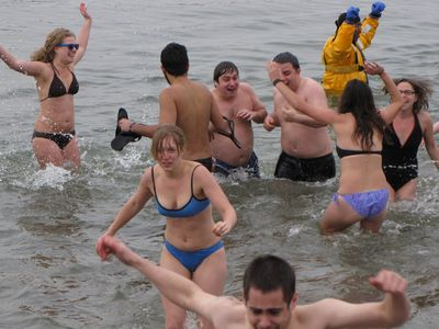 Once in the water, everyone seemed to really have a great time.