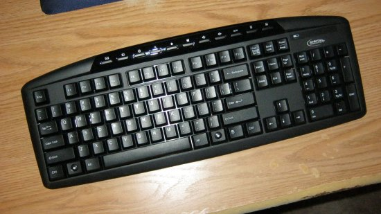 The Digital Innovations keyboard