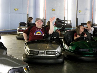 Doing the bumper cars