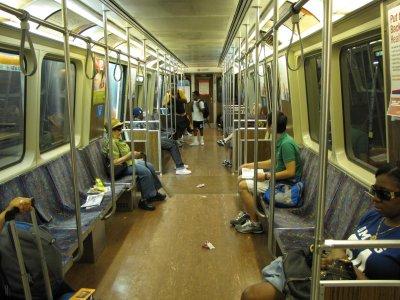 Car 1315 on the MBTA Orange Line