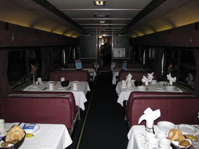 Auto Train dining car