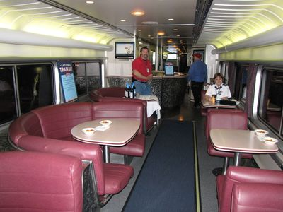 Auto Train lounge car