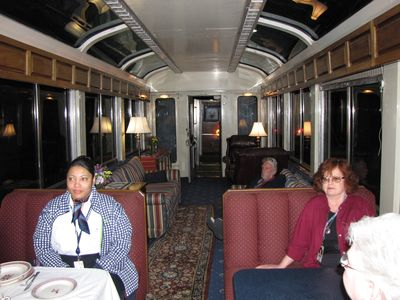 Interior of the Silver Meteor