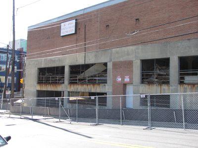 The parking garage under the Safeway in Wheaton