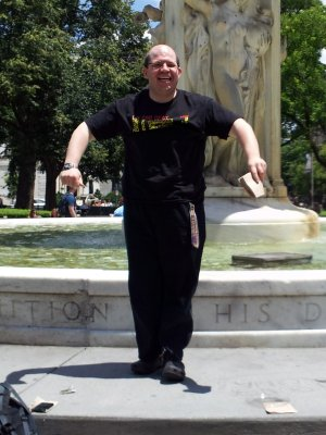 In Dupont Circle on June 15, 2012