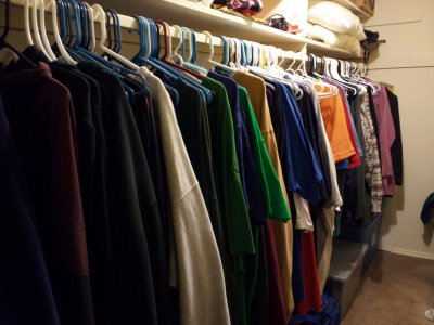 The new look of my closet