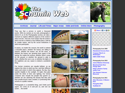 Photography main page