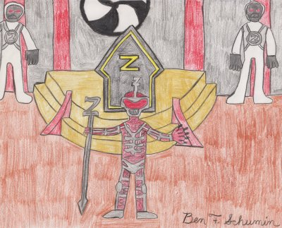 Lord Zedd in his chamber of command