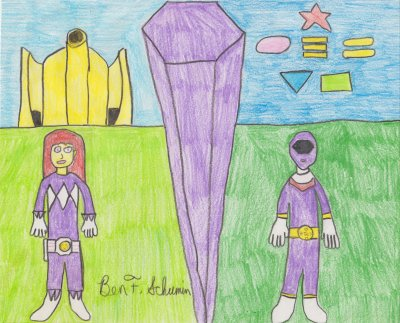 Alex the Purple Ranger