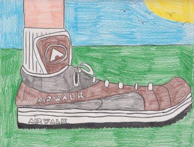 The Airwalk sneaker