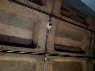New wall-mounted camera