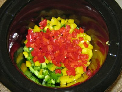 """After the red peppers went in. I referred to this as """"Figure 2"""" on the video."""
