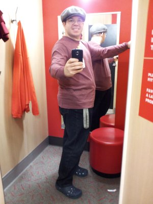 """Another shirt, though I ended up getting a different color (I got """"slate blue""""). #shopping http://twitpic.com/b1qivn"""