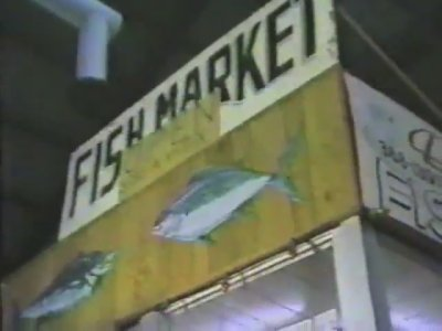 The fish market seen in Today's Special
