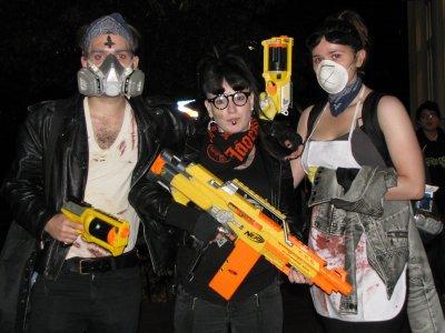 Zombie hunters.
