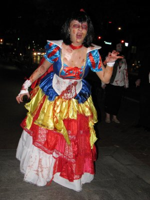 "Zombie Snow White.  This is apparently what the ""Sleeping Death"" looks like without the ""Sleeping"" part.  And then reanimated."