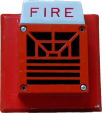 The fire alarm horn from my dream. This is a variation on the Wheelock 7002T that never existed in real life.