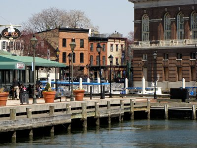 Docks at Fells Point.