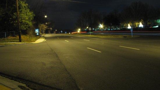 View up Georgia Avenue from Heathfield Road.