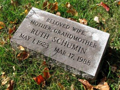 Grandma's marker.