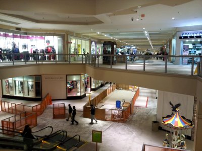 The Boscov's end of Deptford Mall