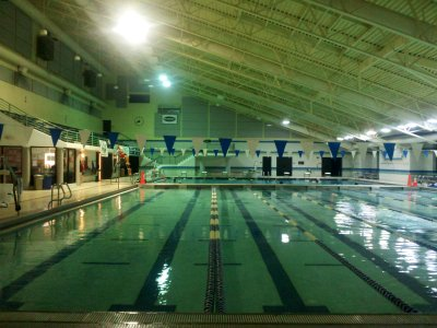 Olney Indoor Swim Center on Thursday, August 8, 2013