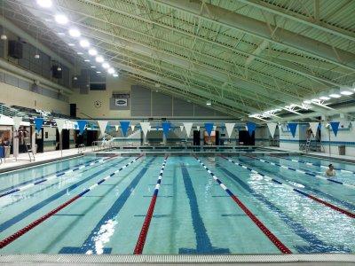Olney Indoor Swim Center on Monday, August 26, 2013
