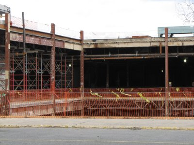 The remains of Springfield Mall