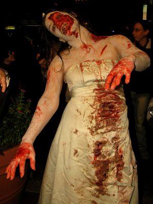 Zombie bride.