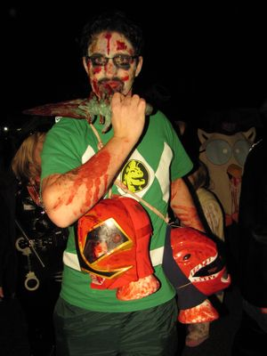 Zombie Power Ranger.