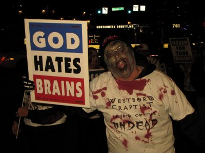 Spoofing Westboro Baptist Church.