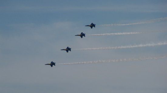 The Blue Angels over Baltimore